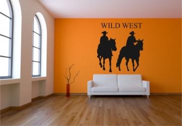 Wandtattoo wilder westen wandtattoo cowboy wandtattoo wild west wandtattoo indianer - Wandtattoo cowboy ...