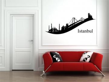 wandtattoo skyline wandtattoo stadt wandaufkleber. Black Bedroom Furniture Sets. Home Design Ideas