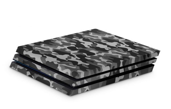 Playstation 4 Pro Skin Aufkleber PS4 Design urban camo old