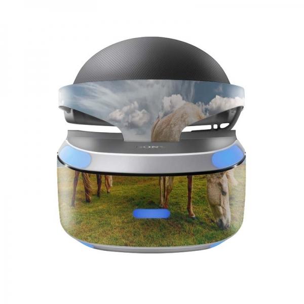 Sony Playstation VR Skin PS4 Design Aufkleber Island