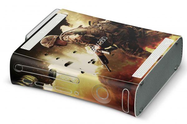 Xbox 360 Skin Design Aufkleber Konsolen Skins old Time to Attack