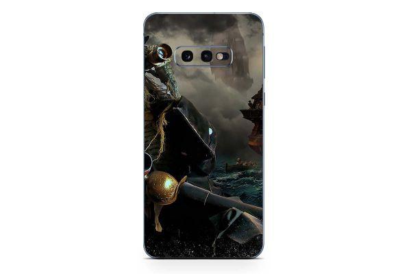 Samsung Galaxy S10e Skin Design Aufkleber - death-pirate