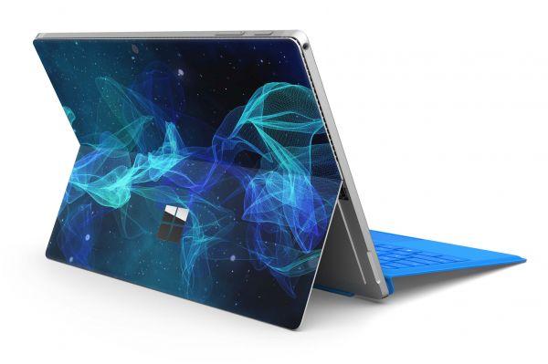 Microsoft Surface Pro 4 Skin Premium Aufkleber Schutzfolie Star Spiral