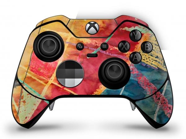 Microsoft Xbox One Elite Controller Skin Aufkleber Design Schutzfolie - Wachsmaler