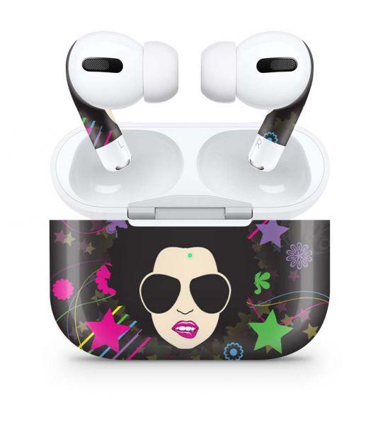 Apple AirPods Pro Skin Aufkleber Design Vinyl Skins Schutzfolie Disco