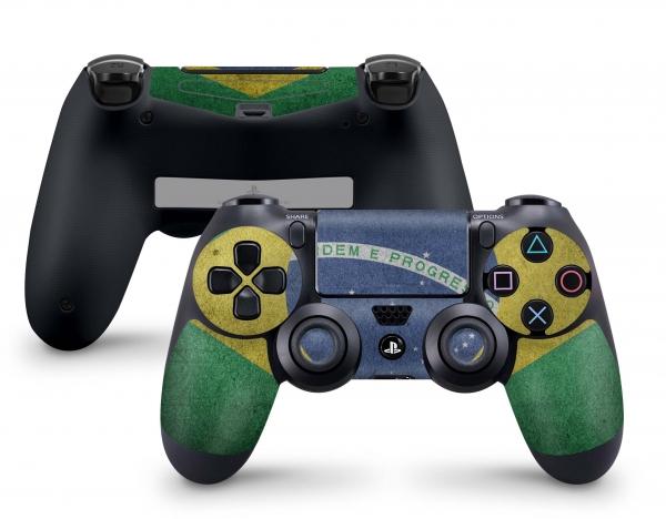 Playstation 4 PS4 Controller Aufkleber Skin - auch für Slim & Pro Brasilien