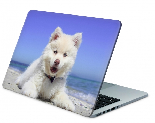 MacBook Pro 13 Modell A1706 Skin Aufkleber Decal Cover Sweet Dog