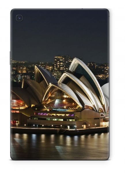Samsung Galaxy Tab A T590 T595 Skin Design Schutzfolie Cover Motiv Sydney bei Nacht