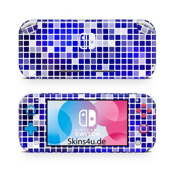 Nintendo Switch Lite Front & Back Skin Aufkleber Schutzfolie bird cherry 10
