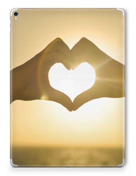 Apple iPad Air 4 Skin Aufkleber Schutzfolie Design heart hands