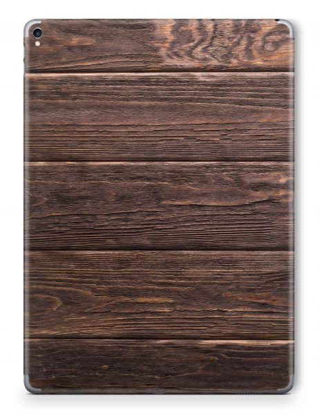 Apple iPad Mini 5 Skin Aufkleber Schutzfolie Design brown wood