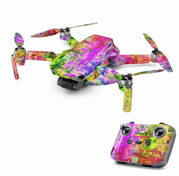 DJI Mavic Mini 2 Skin Aufkleber Wraps Skins Design Folie Abstract
