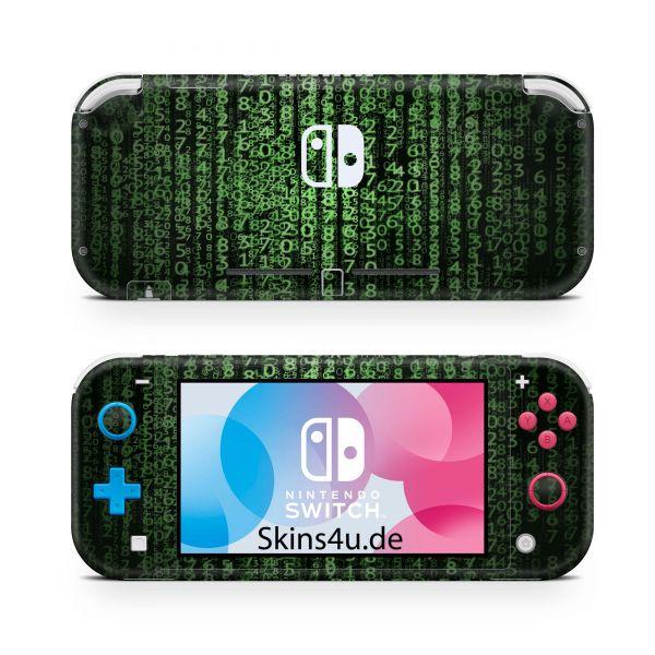 Nintendo Switch Lite Front & Back Skin Aufkleber Schutzfolie Krypto
