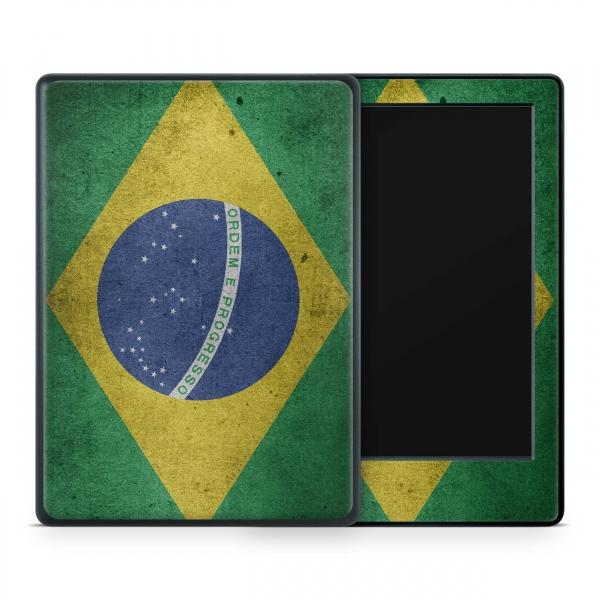 Amazon Kindle Paperwhite Skin Aufkleber Design Schutzfolie Brasilien