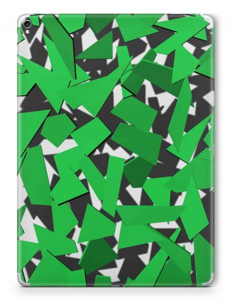 Apple iPad Mini 5 Skin Aufkleber Schutzfolie Design Signal Green