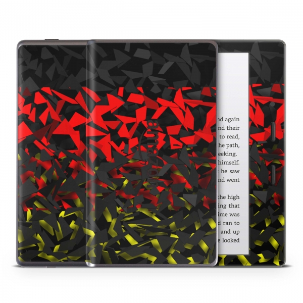 Amazon Kindle Oasis ab 2017 Schutzfolie Skin Aufkleber Design - Splatter German