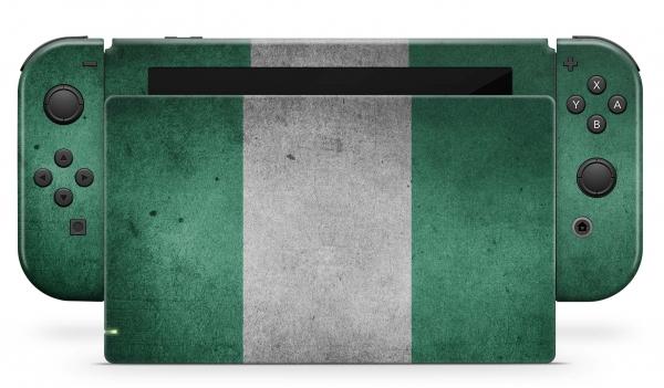 Nintendo Switch Skins Aufkleber Design Schutzfolie Set Nigeria