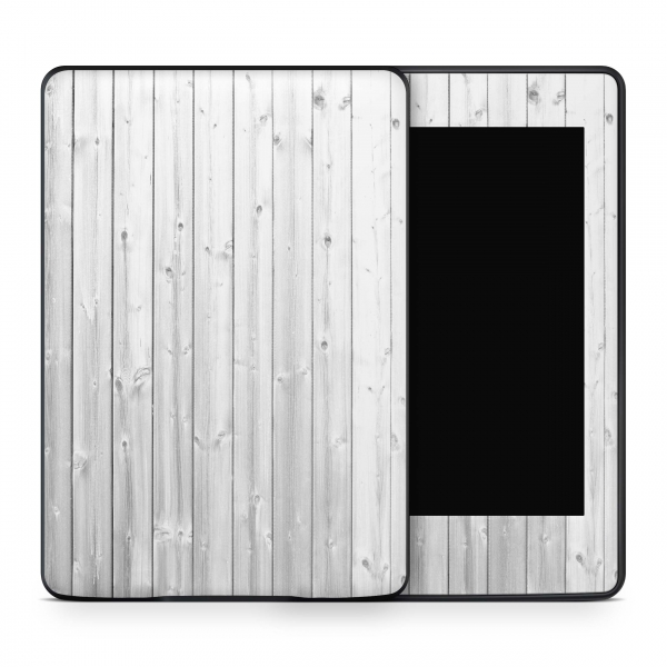 Amazon Kindle Voyage Skin Aufkleber Design Schutzfolie White Wood