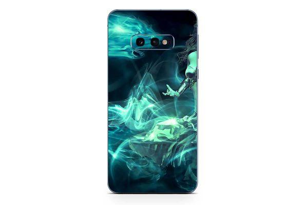 Samsung Galaxy S10 Skin Design Aufkleber - fantasy-dragon