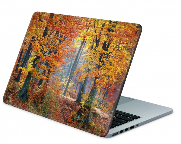"Microsoft Surface Book 2 Aufkleber Skins Decal Cover 13,5"" Herbst Wald"