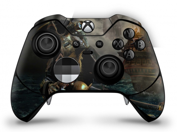 Microsoft Xbox One Elite Controller Skin Aufkleber Design Schutzfolie - Death Pirate