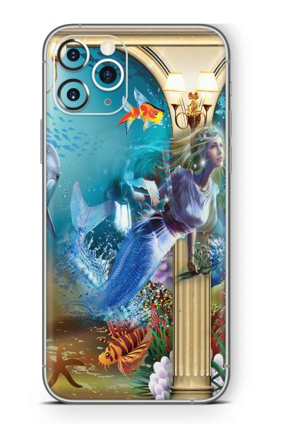 Apple iPhone 11 Pro MAX Skin Design Schutzfolie Aufkleber Atlantis