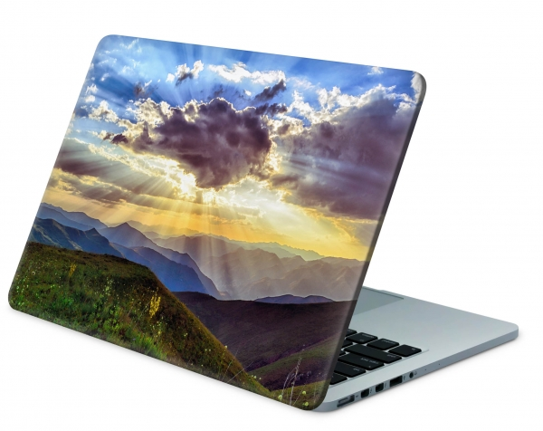 MacBook Pro 13 Modell A1502 Skin Aufkleber Decal Cover Sunset