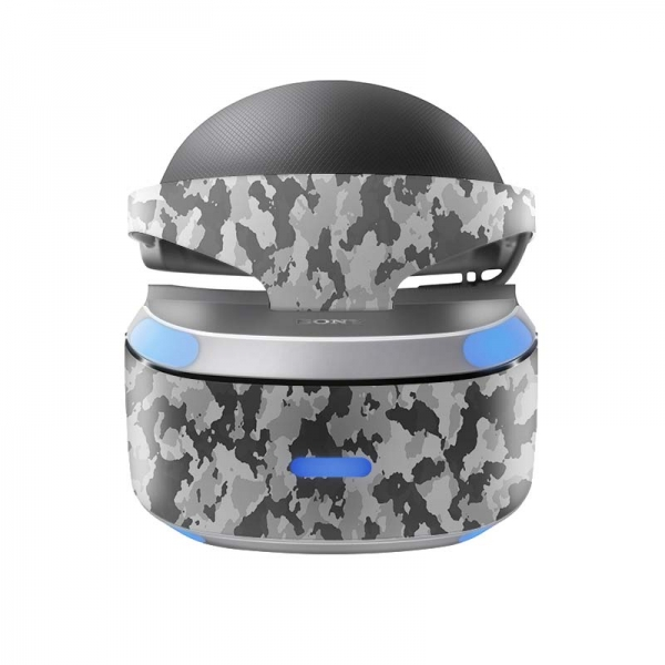 Sony Playstation VR Skin PS4 Design Aufkleber Urban Camo New
