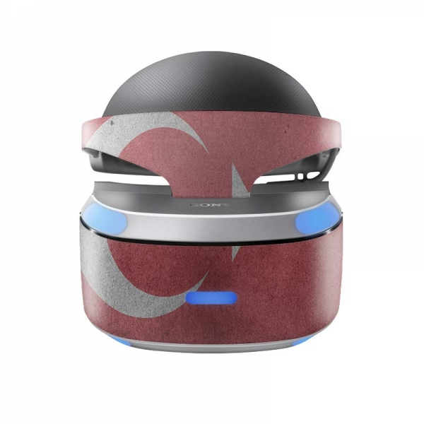 Sony Playstation VR Skin PS4 Design Aufkleber Türkei Vintage