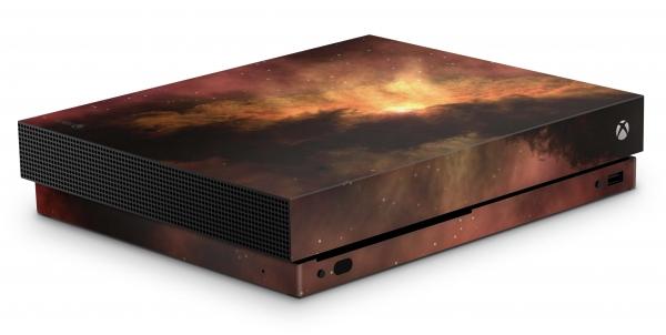 Xbox One X Schutzfolie Skin Aufkleber Design - Soar Storm