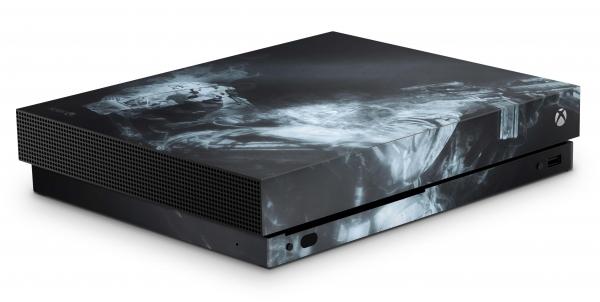 Xbox One X Schutzfolie Skin Aufkleber Design - Soldier