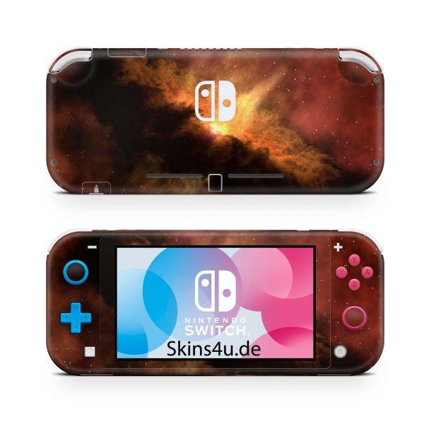 Nintendo Switch Lite Front & Back Skin Aufkleber Schutzfolie Solar Storm