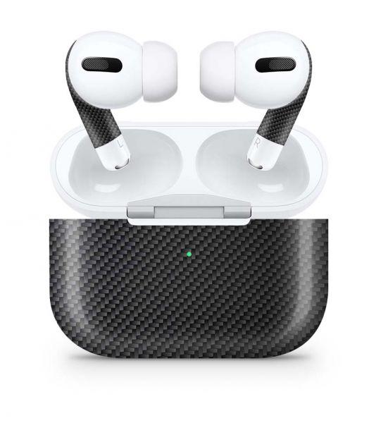 Apple AirPods Pro Skin Aufkleber Design Vinyl Skins Schutzfolie Carbon