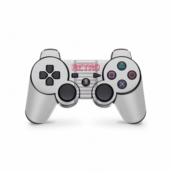 Playstation 3 Controller Skin PS3 Aufkleber Set - Retro