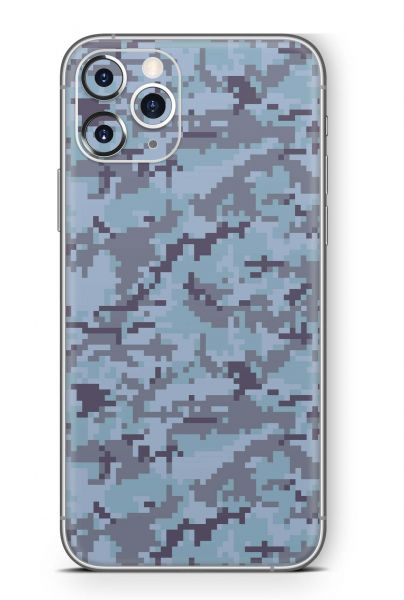 Apple iPhone Skin Design Schutzfolie Aufkleber Digital Sky Camo