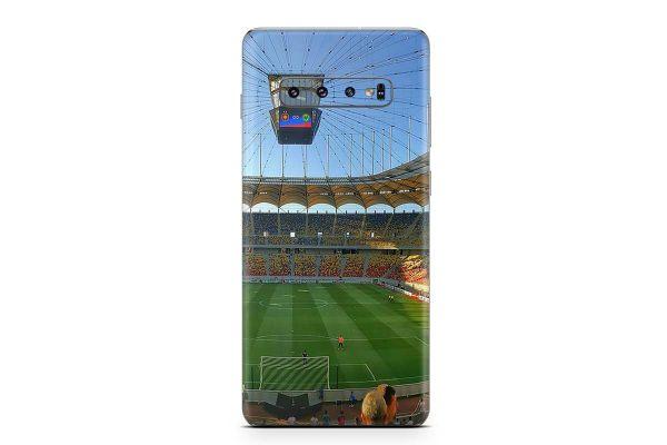 Samsung Galaxy S10 Lite Skin Design Aufkleber - fussball-arena