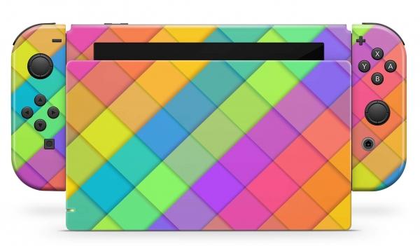 Nintendo Switch Skins Aufkleber Design Schutzfolie Set Sam
