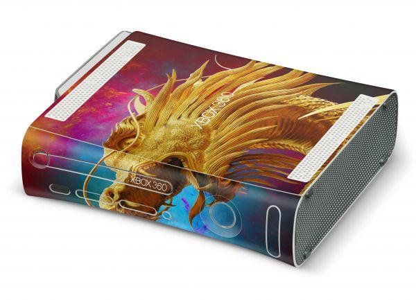 Xbox 360 Skin Design Aufkleber Konsolen Skins China Dragon