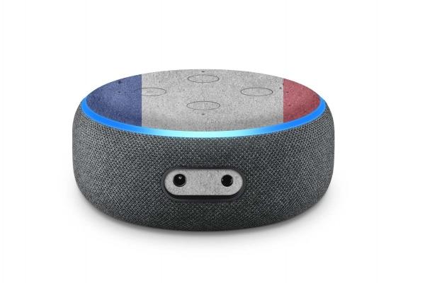 Amazon Echo Dot Skin 3. Generation Schutzfolie Frankreich
