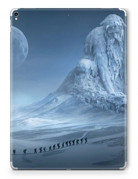 Apple iPad Pro 10,5 2017 Skin Aufkleber Schutzfolie Design frozen giant