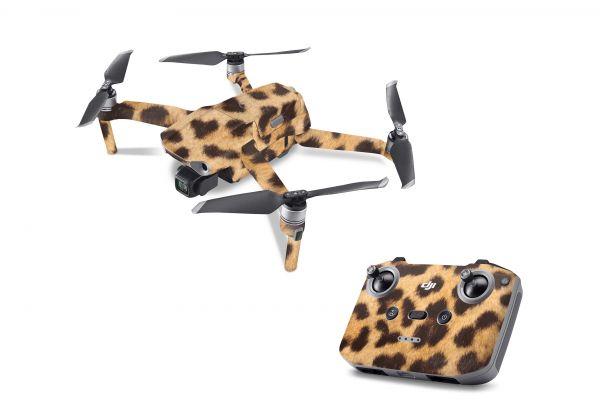 DJI Mavic Air 2 Skin Aufkleber Schutzfolie Drohnen Skins Vinyl Folie Leopardenfell