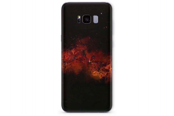 Samsung Galaxy S8 Skin Design Aufkleber - far-galaxy