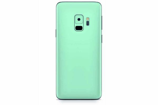Samsung Galaxy S9 Skin Design Aufkleber - solid-mint
