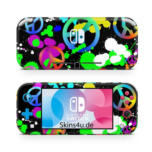 Nintendo Switch Lite Front & Back Skin Aufkleber Schutzfolie Unity