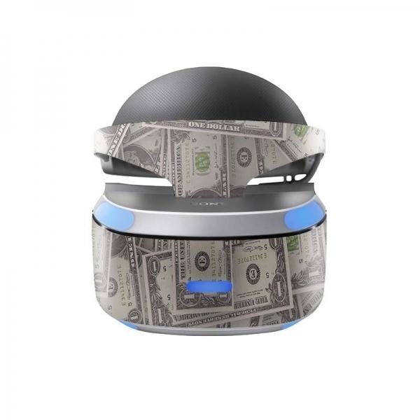 Sony Playstation VR Skin PS4 Design Aufkleber Cash