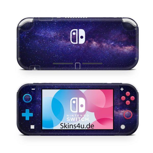 Nintendo Switch Lite Front & Back Skin Aufkleber Schutzfolie Milky Way