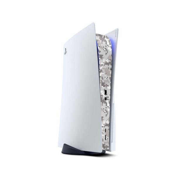 Playstation 5 PS5 Skin Design Vinyl Konsolen Skins MIttelteil Aufkleber Digital urban camo