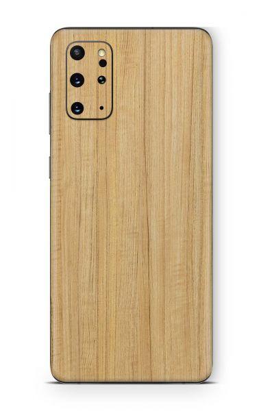 Samsung Galaxy S20+ Skin Aufkleber Design Schutzfolie Eiche