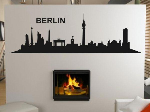 Wandtattoo Skyline Berlin Motiv 3