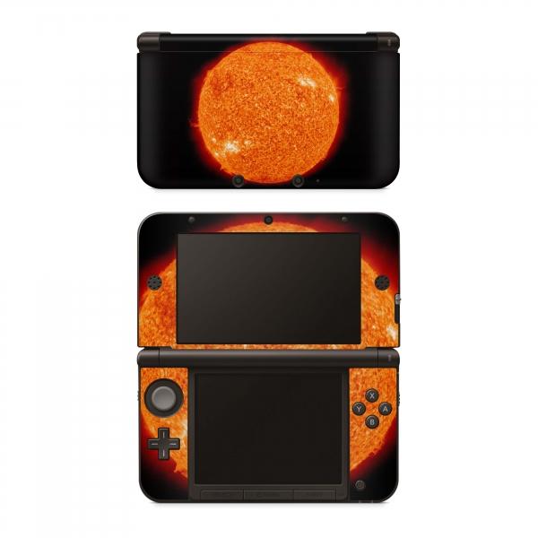 Nintendo New 3DS XL Skin Aufkleber Design Schutzfolie Big Red